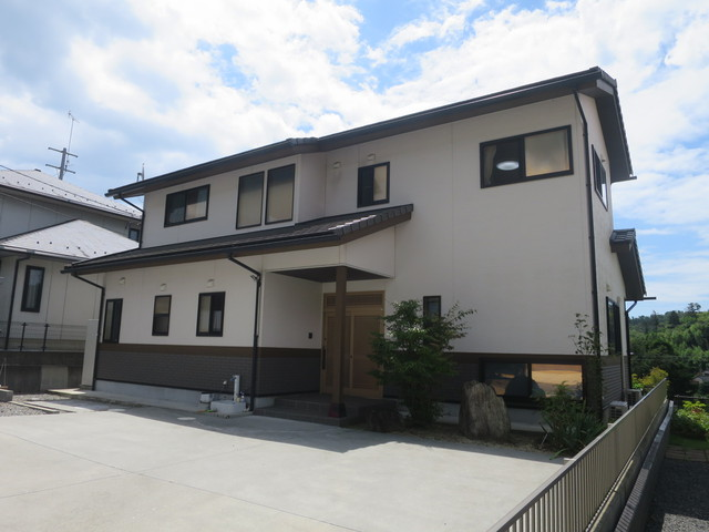 ★大久町板木沢 景観良好 日本ハウスHD(旧、東日本ハウス施工)ヒノキの家★